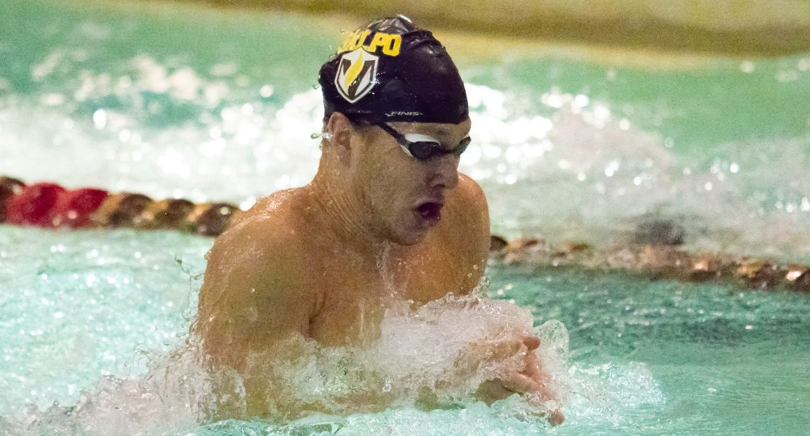 Valpo Men Continue Summit League Swimming Championships Thursday