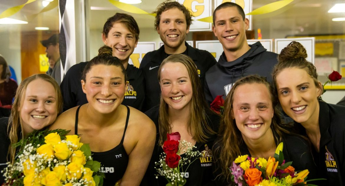Swimming Splits Tri-Meet Saturday at ARC While Celebrating Seniors