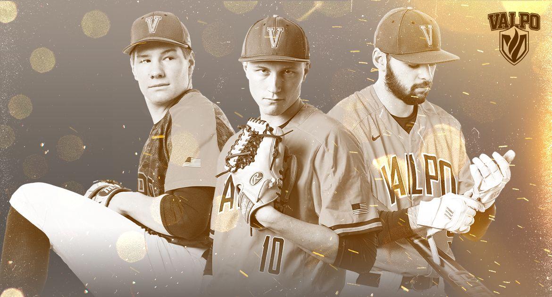 Valpo Baseball Trio Recognized with MVC Scholar-Athlete Status