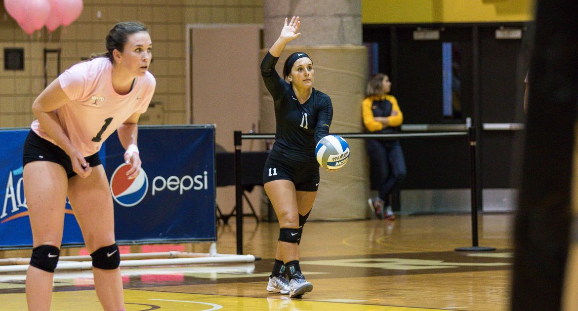 Volleyball Faces Three-Match Week