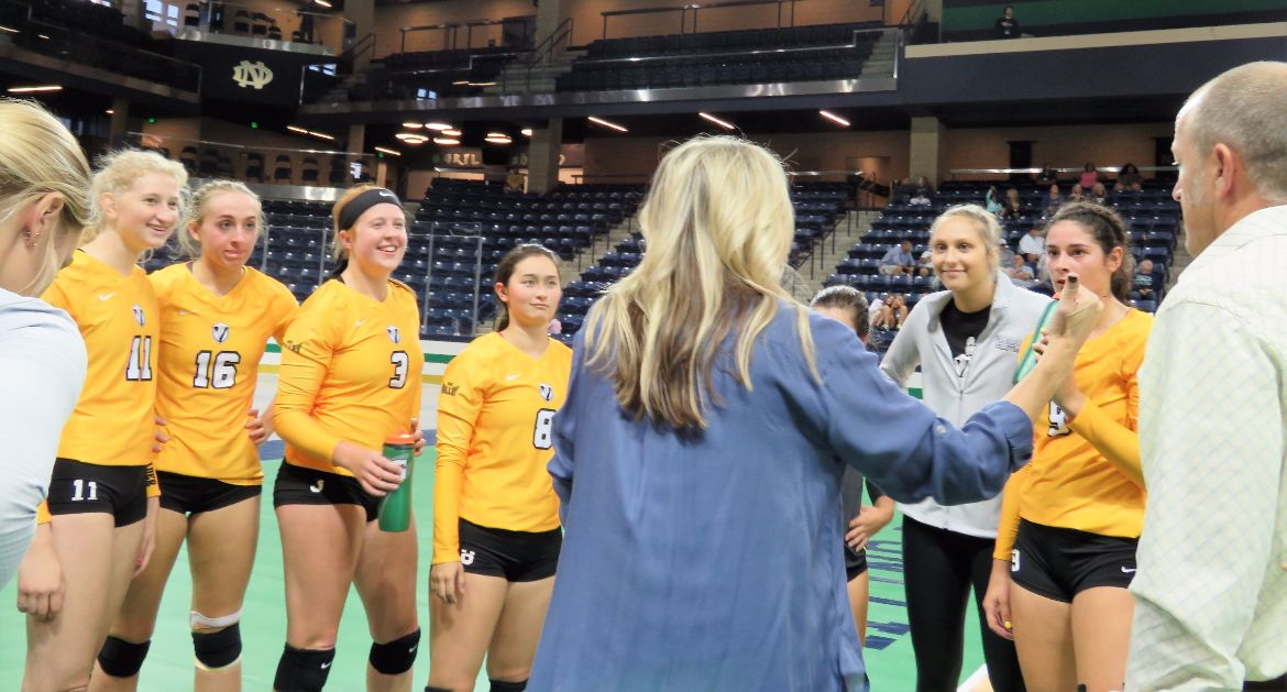 Cookerly Sets Valpo Program Record in Debut Versus Notre Dame
