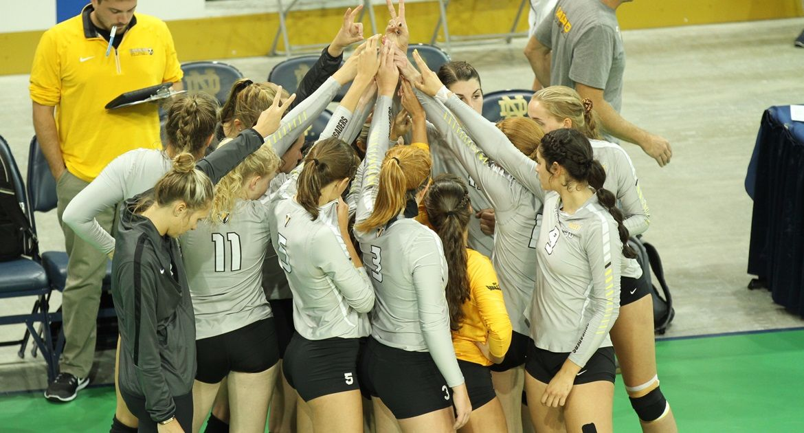 Volleyball Opens At Home, Closes Pre-Conference Schedule