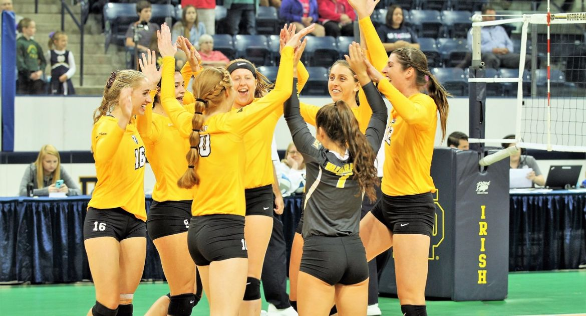 Volleyball Earns Pair Of Victories To Close Cornell Invitational