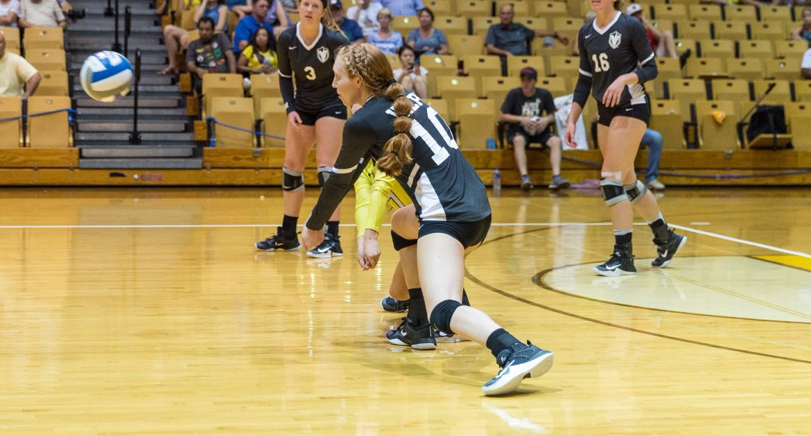 Volleyball Drops Saturday Match to Drake