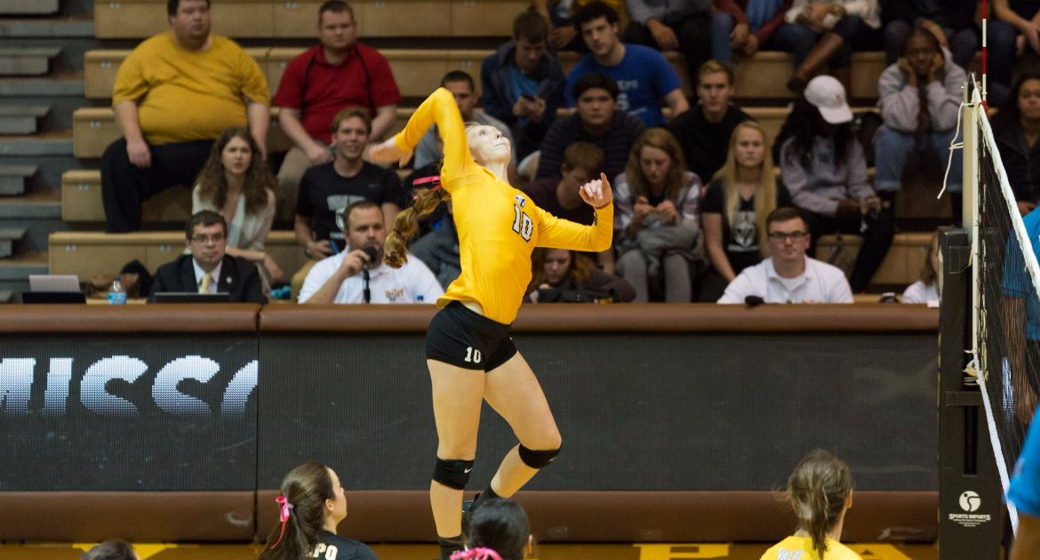 Volleyball Sweeps Loyola Friday Night