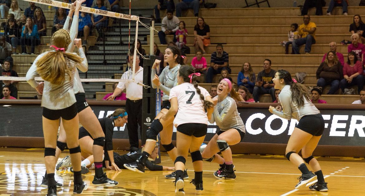 Busy Stretch Continues For Volleyball This Week