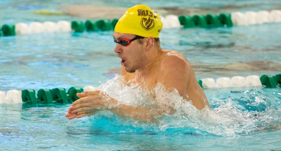 Swimming Competes in Final Meet Before Conference Championships