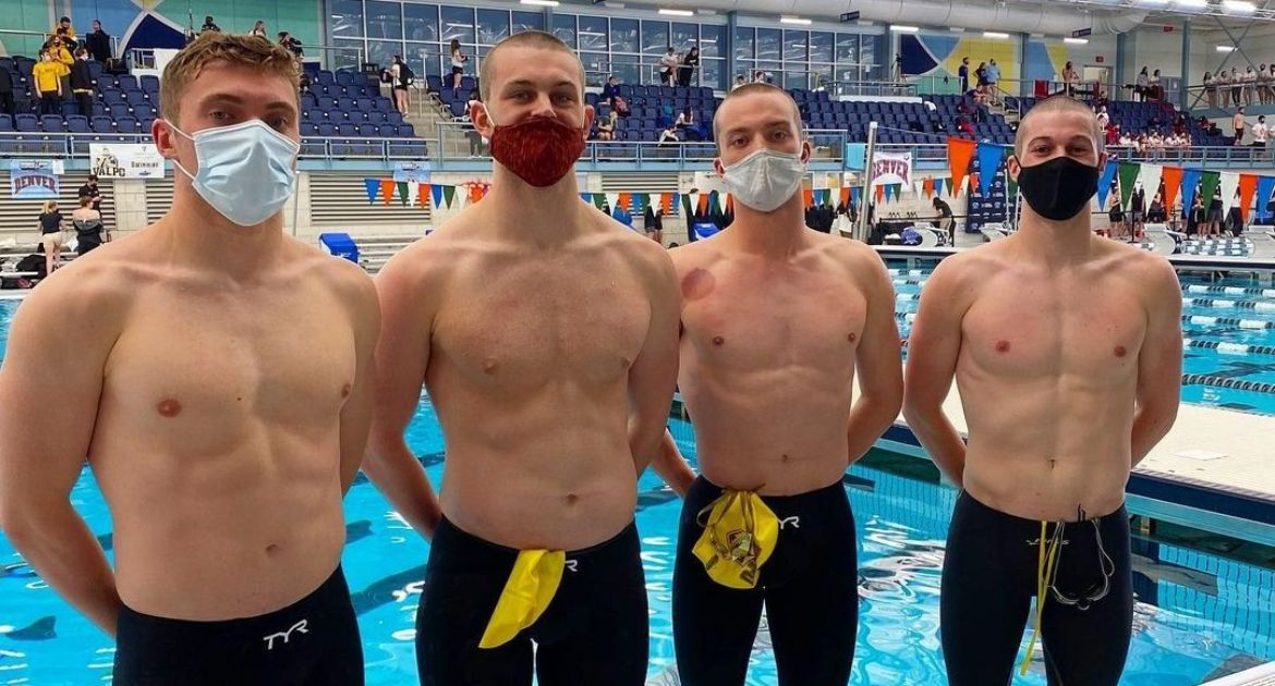 Valpo Men Post Pair of Record Swims to Close Summit League Championships