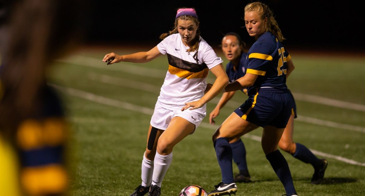 Evansville Edges Women's Soccer Saturday Night