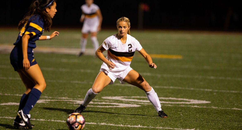 Women's Soccer Drops One-Goal Decision Sunday