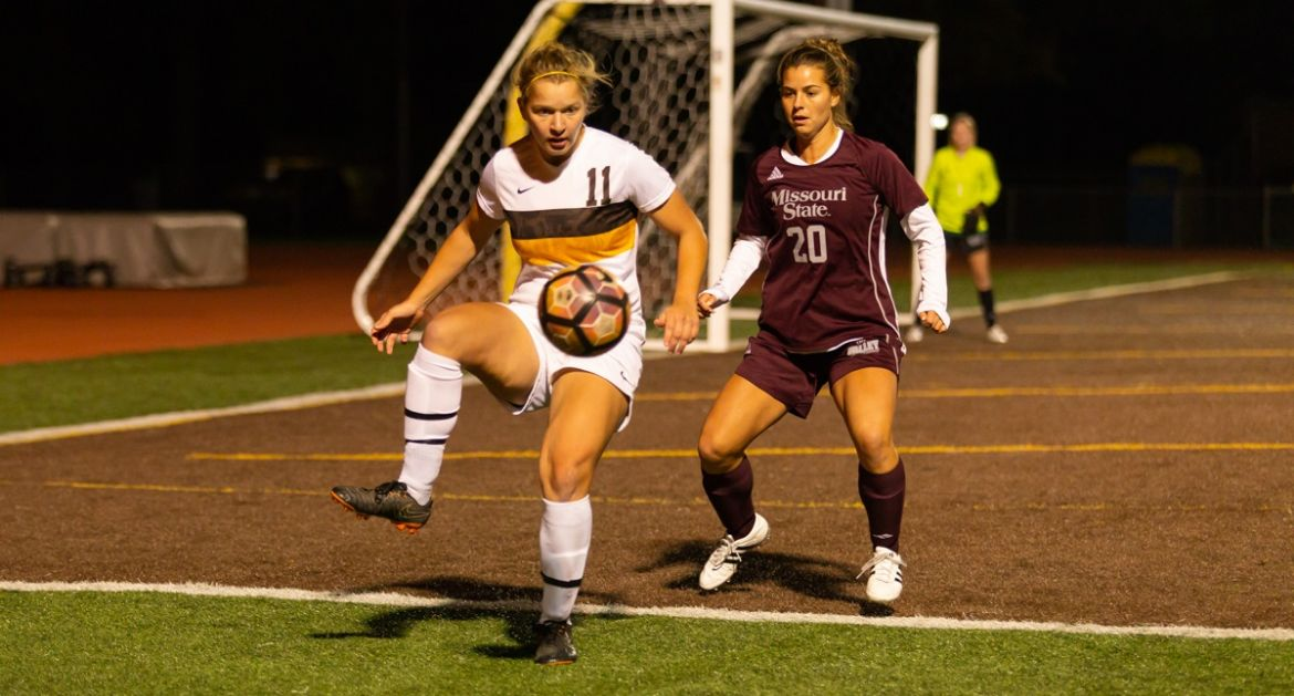 Women's Soccer Picks Up Point Against Missouri State Saturday