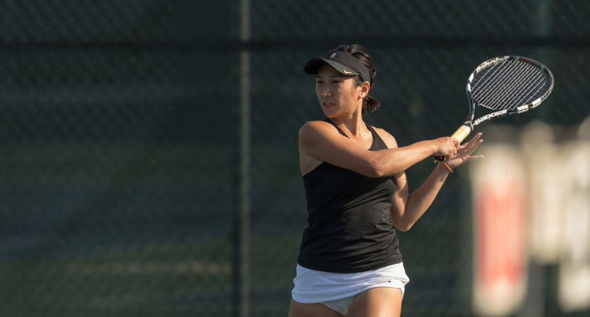 Sysouvanh Picks Up Win for Women's Tennis on Sunday