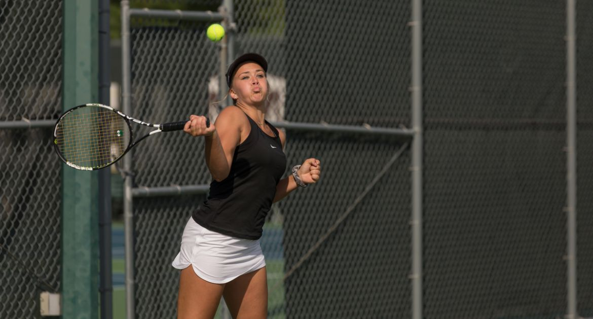 Czerwonka Notches Wins in Singles, Doubles on Saturday