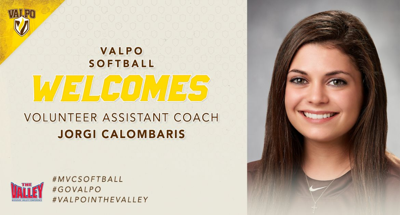 Calombaris Joins Valpo Softball Staff