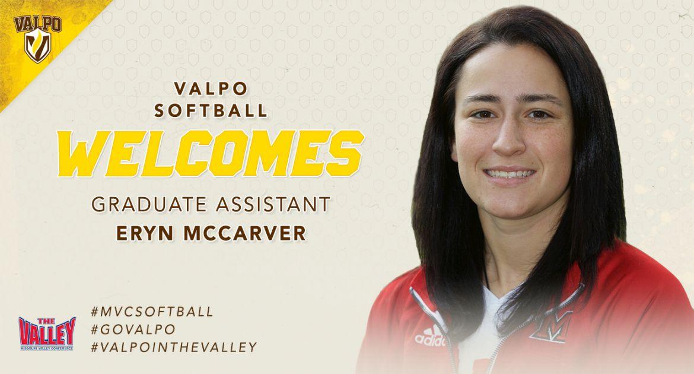Eryn McCarver Joins Valpo Softball Coaching Staff