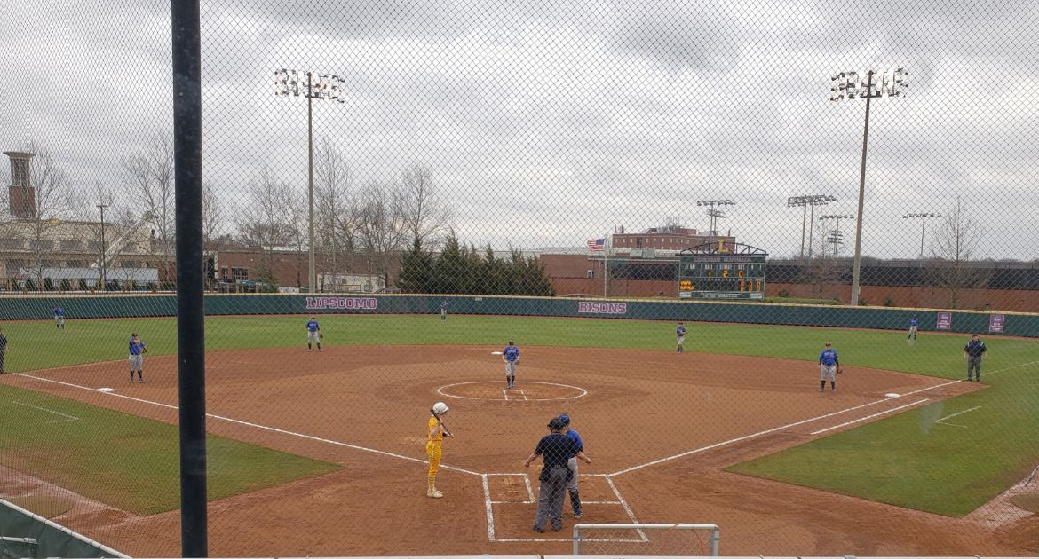 Softball Games Saturday at Lipscomb Canceled