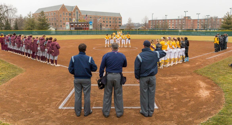 Softball Twinbill Against CMU Canceled