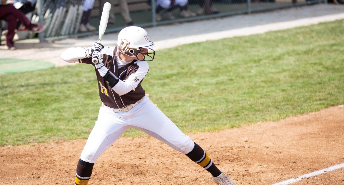 Softball Splits Pair of Extra-Inning Games Friday