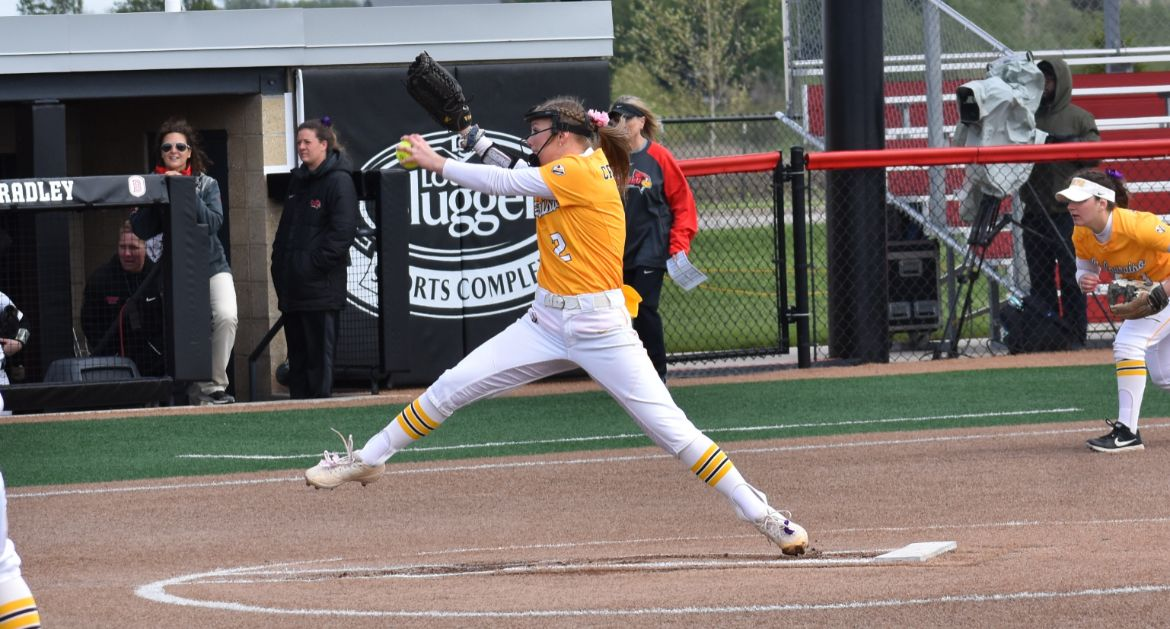 Softball Drops Pair of Games Saturday