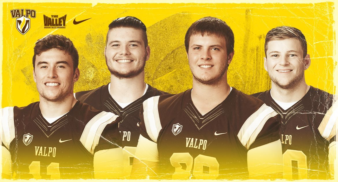 Valpo Places Four on Academic All-PFL First Team, Two on Second Team