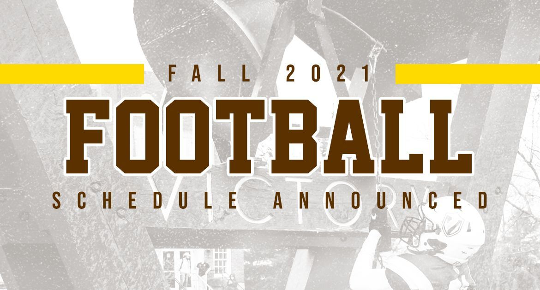 Valpo Football Announces Fall 2021 Schedule