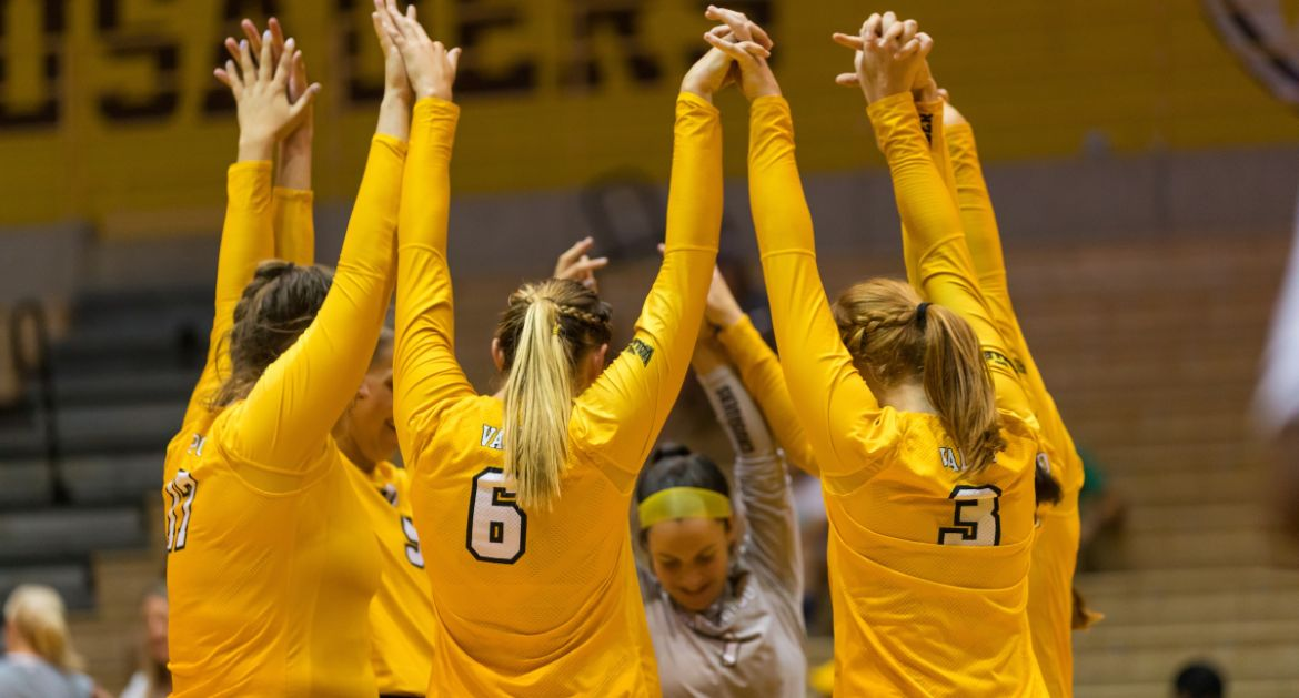Volleyball Heads to #20 Michigan, Air Force This Week