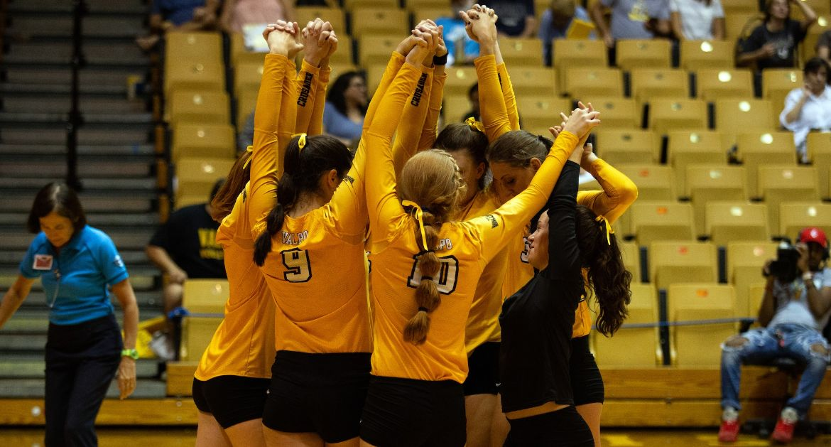 Volleyball Opens MVC Play On the Road; Returns Home Monday