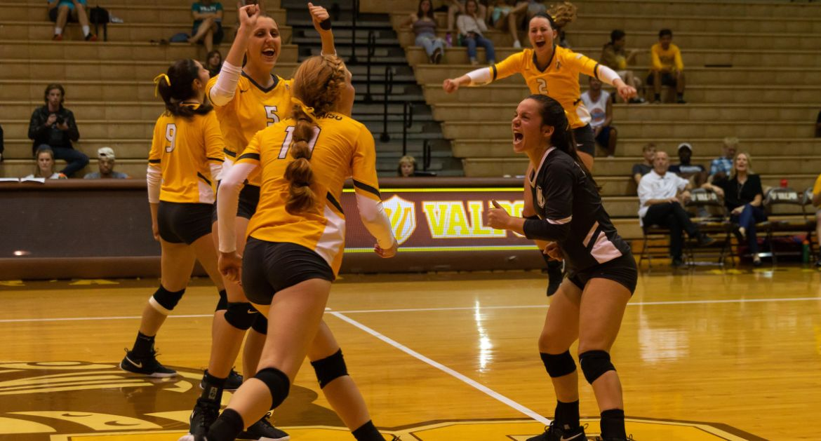 Volleyball Returns to the ARC This Weekend