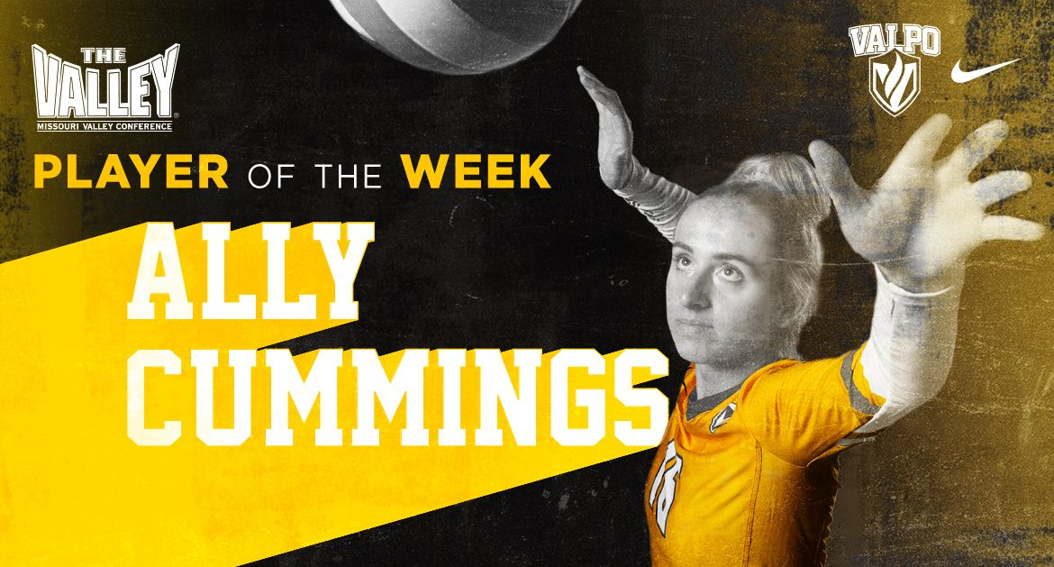 Cummings Named MVC Offensive Player of the Week