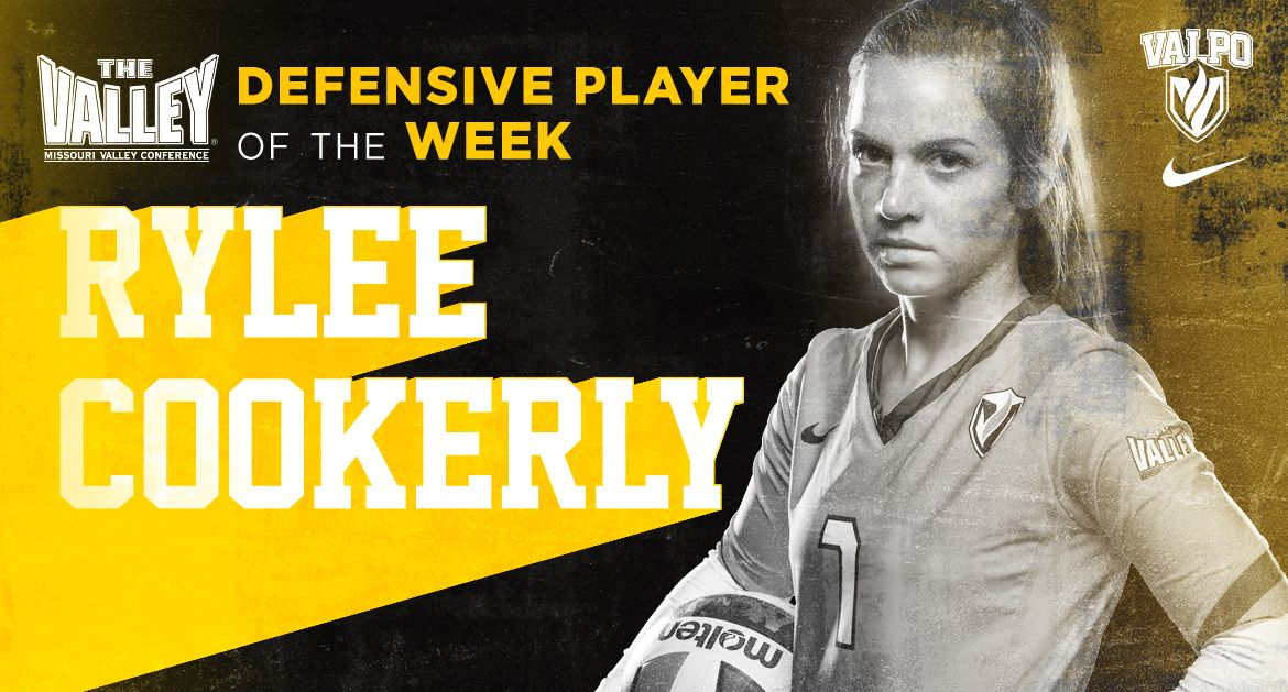 Cookerly Named MVC Defensive Player of the Week