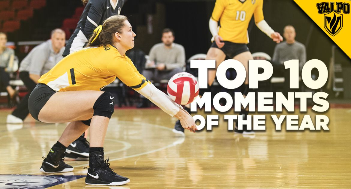 No. 6: Valpo Volleyball Sets NCAA Record For Digs in a Season in the 25-Point Era