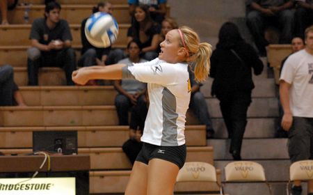 Crusaders Record Third Straight Sweep in Victory over UAB