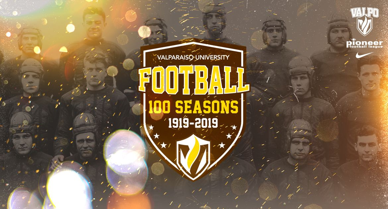 Valpo Football Announces 100th Anniversary Celebration