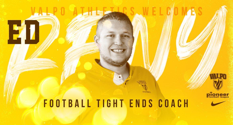 Valpo Football Adds Ed Reny to Coaching Staff