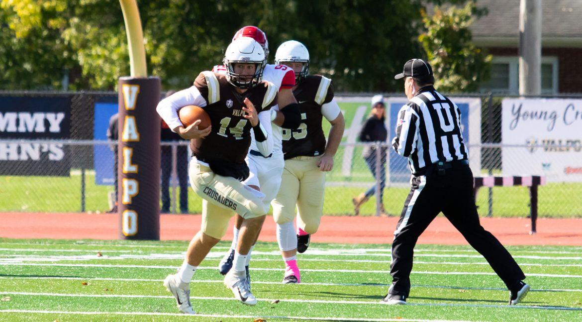Valpo Rushes for Nearly 300 Yards in Setback to Dayton