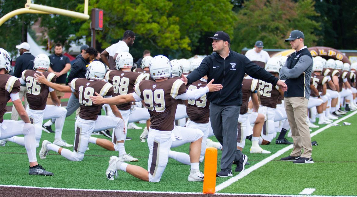 Football Visits Defending PFL Champs on Saturday