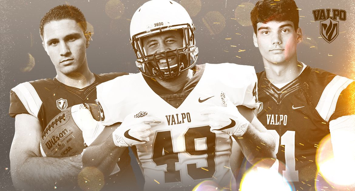 Valpo Trio Named to Academic All-PFL Second Team