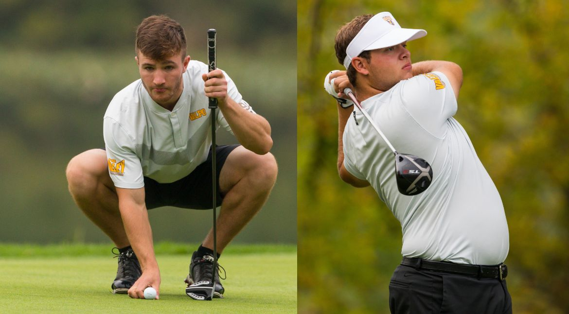Men's Golf Ties for Second at Crusader Collegiate Behind Best Tournament Score in Five Years