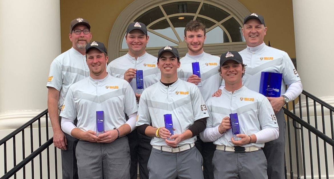 Men's Golf Wins The Invitation at Savannah Harbor