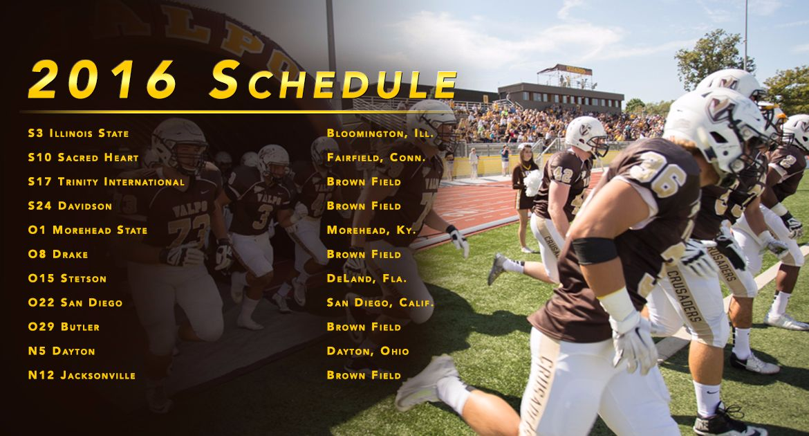 2016 Football Schedule Announced