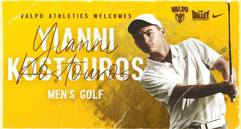 Kostouros Joins Valpo Men's Golf Program