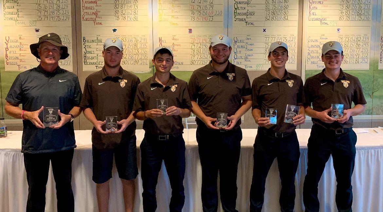 Men's Golf Boasts Second-Best Tournament Performance in Program History at Valpo Fall Invitational