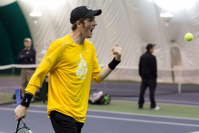 Men's Tennis Grabs Two Home Victories