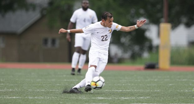 Moreno Picks Up First Crusader Goal in Defeat to Marquette