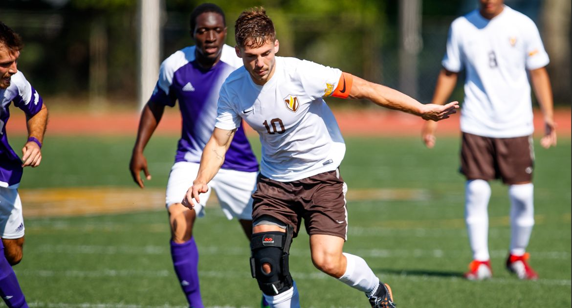 Mentzingen Tallies Goal in Men's Soccer Setback to Oral Roberts