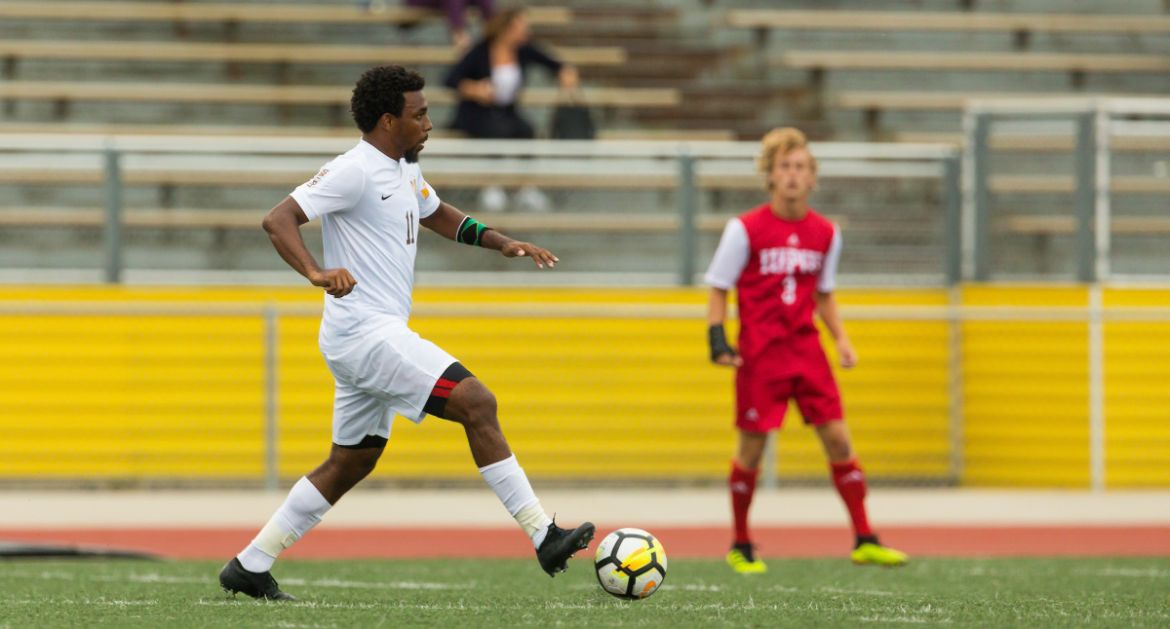 Men's Soccer Secures MVC Tournament Berth with Draw at Evansville