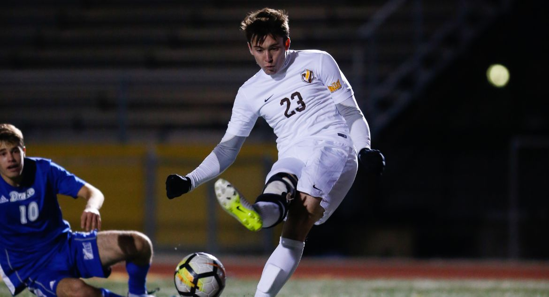 Men's Soccer Wins Regular Season Finale, Locks Up No. 3 Seed for MVC Tournament