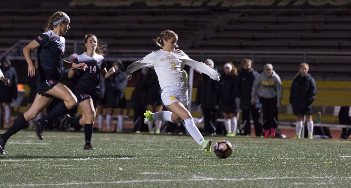 Valpo Wins 2-0 In Exhibition Finale
