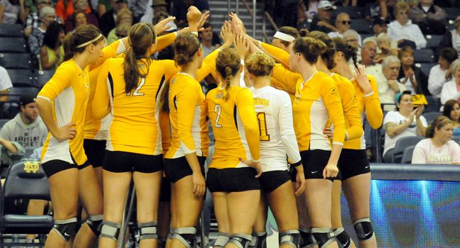 Crusaders Announce 2012 Volleyball Schedule