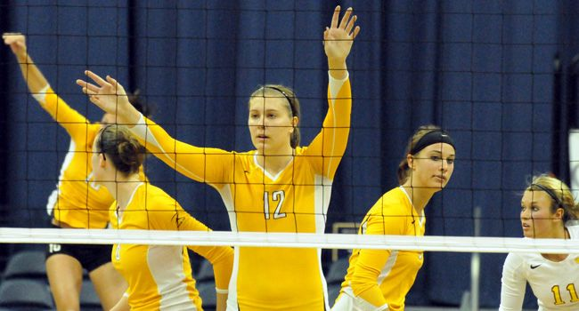 Valpo VB Opens League Play, Heads to DePaul This Week